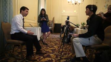 Pete Buttigieg meets the press