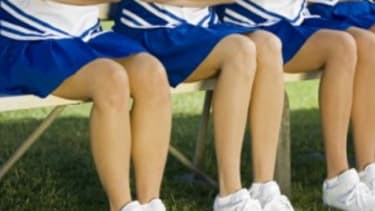 Cheerleading: Too sultry?