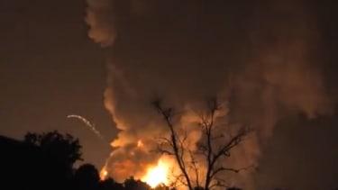 Explosion in Tavares, Fla.