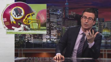John Oliver makes a persuasive case for Washington ditching the name Redskins