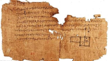 Part of the Oxyrhynchus Papyri