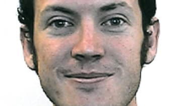 """An undated photo of the alleged Colorado theater shooter James Holmes whose apartment, police found, was rigged with explosives and a """"very sophisticated"""" booby trap."""