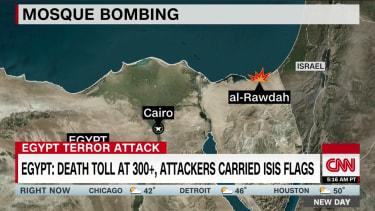 CNN reports on Egypt terrorist attack, earning rebuke from Egypt