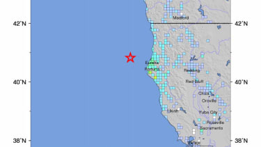 Northern California rocked by a 6.9 earthquake