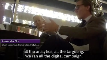 Alexander Nix and other Cambridge Analytica execs brag about the Trump campaign