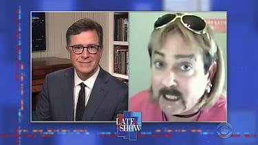 "Stephen Colbert and ""Joe Exotic"""