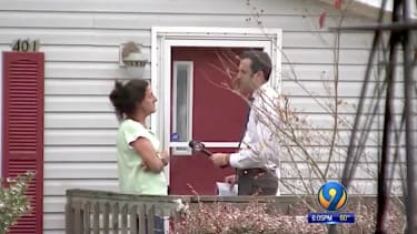 Woman tells North Carolina TV station she was paid to collect absentee ballots