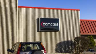 Comcast logo.
