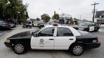 An LAPD car.