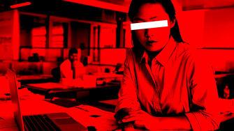 An office worker.