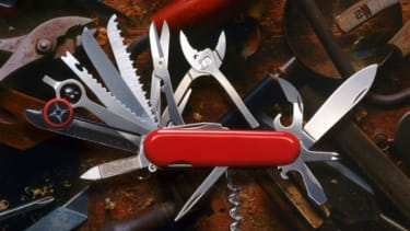 Small-blade Swiss army knives are once again TSA approved.