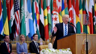 President Trump speaks in Riyadh