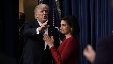 Trump and CMS Administrator Seema Verma