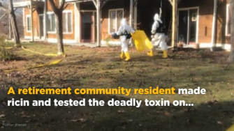 Retirement community resident allegedly made ricin, tested it on neighbors