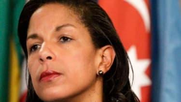 U.N. Ambassador Susan Rice faces her biggest GOP critics Tuesday, including Sen. John McCain (