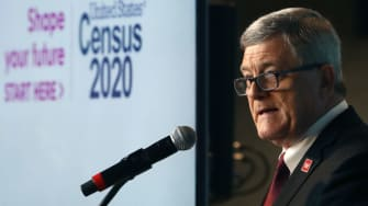 Census Bureau director Steven Dillingham