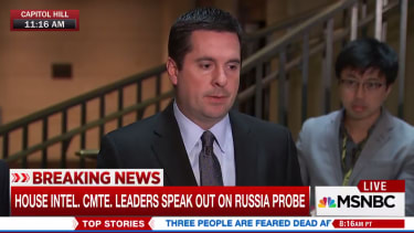 GOP House intel chair on wiretapping.
