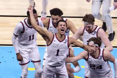 Gonzaga men's basketball.