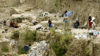 Archaeological site in Lebanon with relics from the Bronze Age