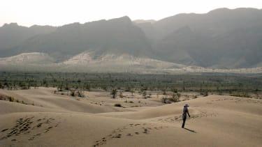 Iranian desert.