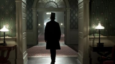 Daniel Day-Lewis' Honest Abe walks through the White House in Steven Spielberg's Lincoln — a near lock for several Oscar nominations.