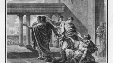 Caught up in the violent conflict between the Senate and the People Tribune of the People Caius Gracchus is begged by his wife Licinia to flee.