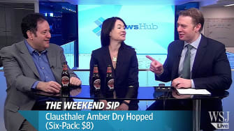 The Wall Street Journal finds a non-alcoholic beer that isn't terrible