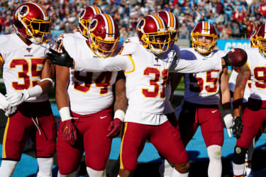 Players from the Washington Redskins.
