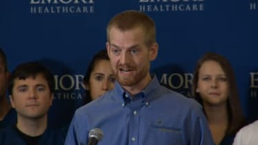 Cured American Ebola patient speaks publicly for the first time: 'Today is a miraculous day'
