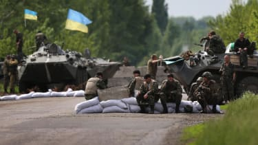Ukraine pushes pro-Moscow rebels to final showdown in the last separatist stronghold