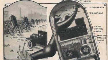 A terrible idea for police reform from 1924: Robots who battle protesters