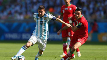 Argentina's Lionel Messi scores a brilliantly clutch goal to carry his team past Iran