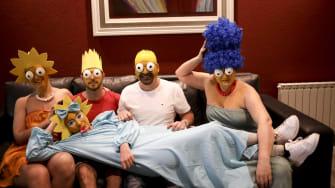 Faux Simpsons.