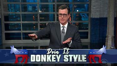 Stephen Colbert profiles Andrew Yang
