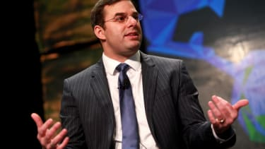 Watch Tea Party Rep. Justin Amash slam his establishment GOP opponent — for calling to concede