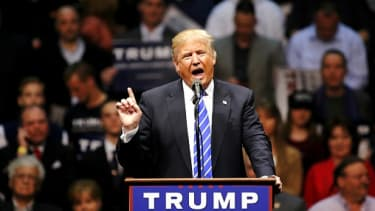 trump is the most hated presidential candidate since David Duke.