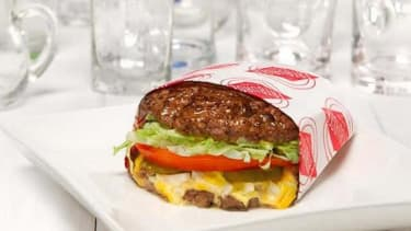 Fatburger debuts the ultimate protein burger, with meat replacing a bun