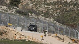 Israel border.