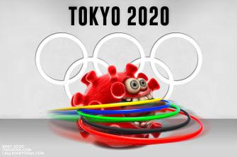 Editorial Cartoon U.S. Tokyo Olympics 2020 postponed
