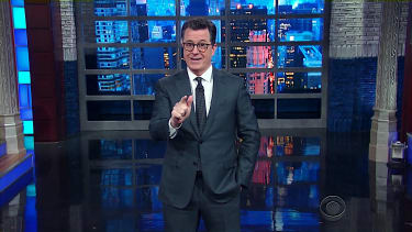 Stephen Colbert laughs at Jeff Sessions' predicament on Russia