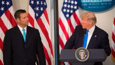 Kris Kobach and Trump