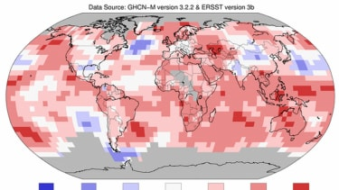 The hottest May in recorded history was last month
