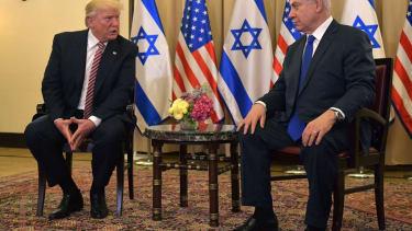 President Trump and Israeli Prime Minister Netanyahu.