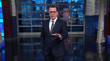 Stephen Colbert challenges Stephen Miller to a showdown