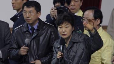 South Korean president lashes out at ferry captain's 'murderous behavior'