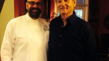 Bill Murray showed up at a suburban birthday party in South Carolina this weekend