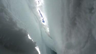 Professor trapped in Himalayan crevasse records his epic escape