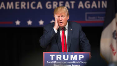 Supporters of Donald Trump have not been making substantial arguments.