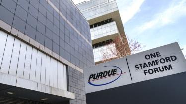 The Purdue Pharma sign