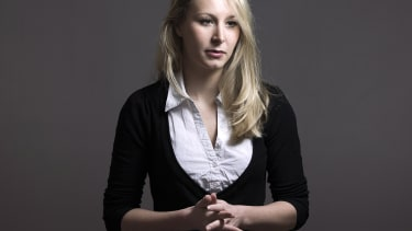French far-right National Front (FN) member of parliament Marion Marechal Le Pen.